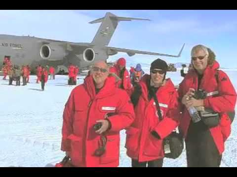 Heading to McMurdo Station -- Antarctica Video Report #4