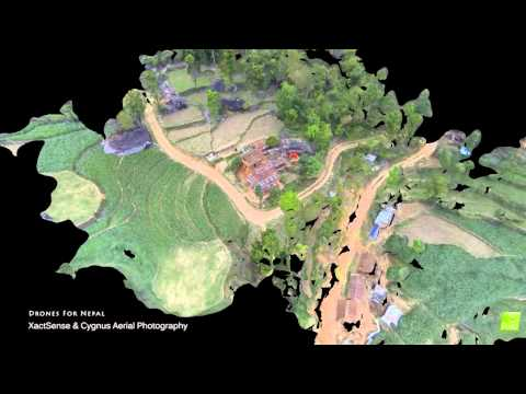 Drone 3D Mapping, Photogrammetric Analysis & Asset Management 2015 Nepal Earthquake