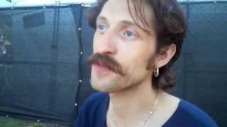 Eugene Hutz of Gogol Bordello Interview at ACL 2010
