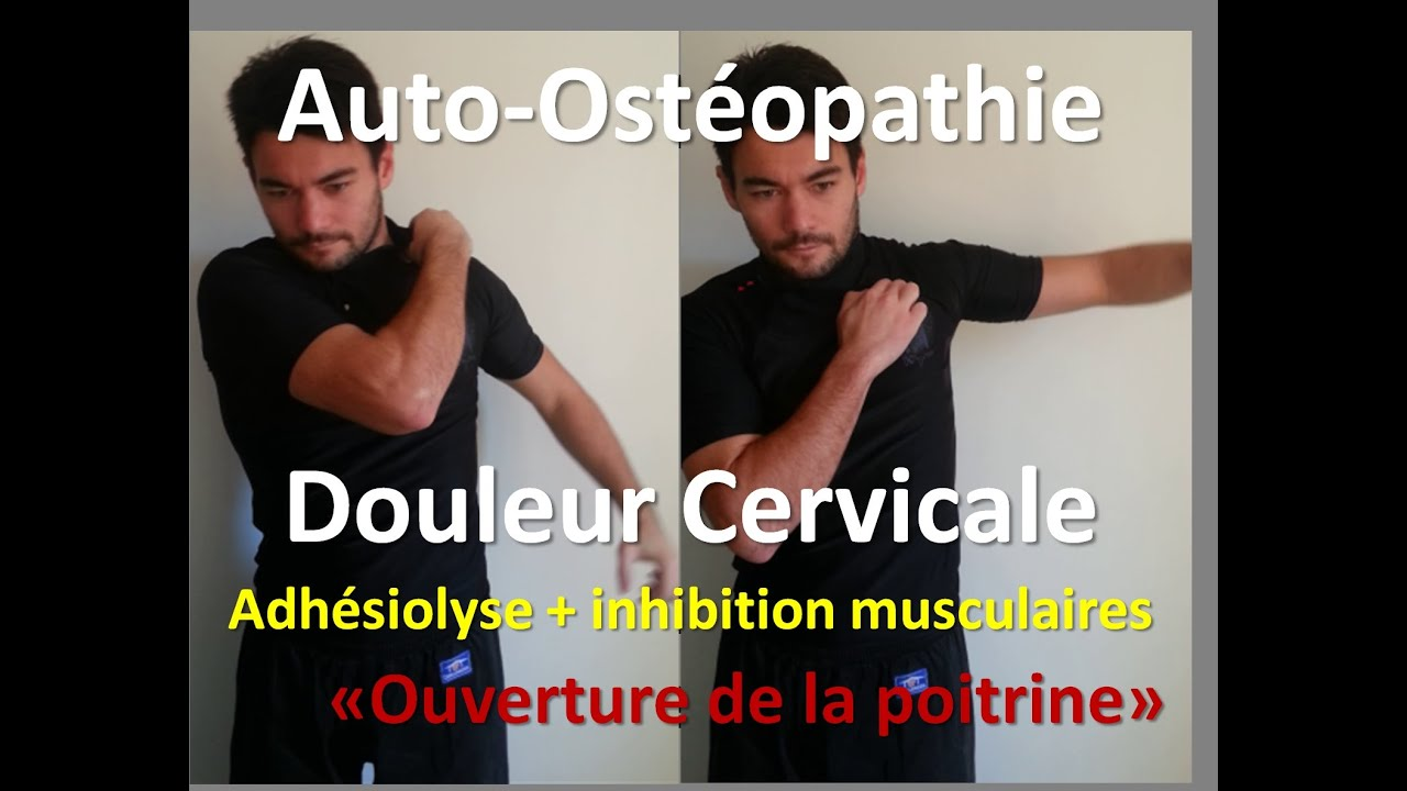 auto osteopathie cervicalgies douleur cervicale lib ration de la nuque youtube. Black Bedroom Furniture Sets. Home Design Ideas