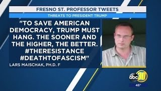 Professor Who Called for Trump