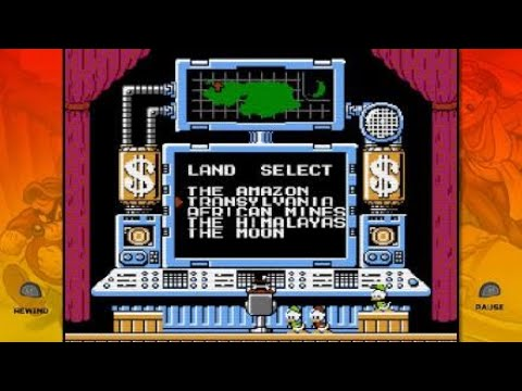 The Disney Afternoon Collection, Ducktales, first game :)  