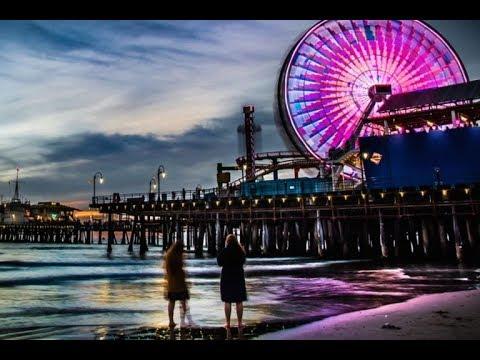 Пирс Санта Моника и обзор нашего отеля /Santa Monica Pier Los Angeles