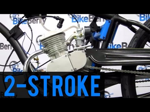 How To Install 80cc 2-Stroke Bicycle Engine Kit FULL DVD 66cc 48cc 50cc