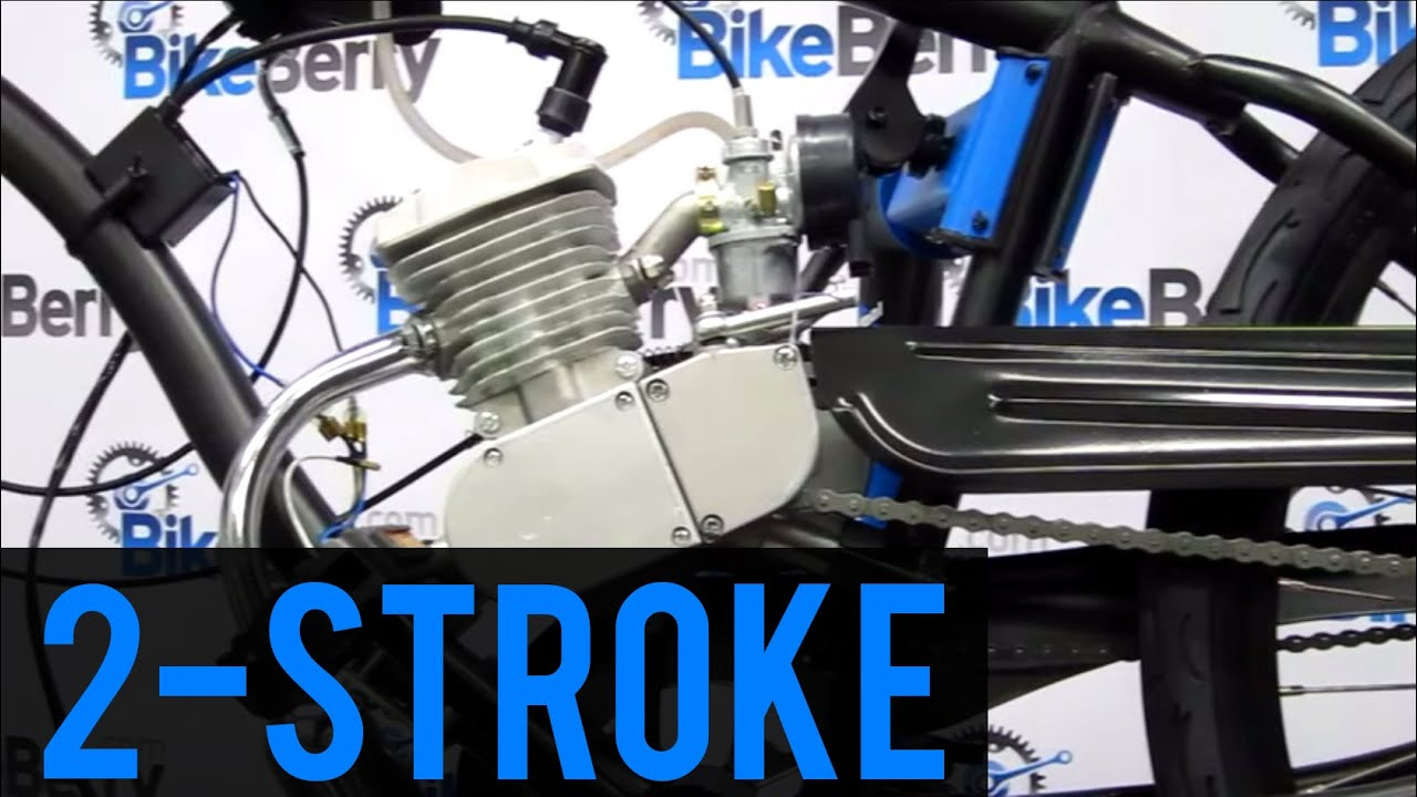 How To Install 80cc 2 Stroke Bicycle Engine Kit Full Dvd 66cc 48cc 50cc Diagram Youtube