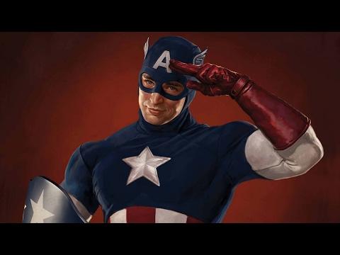 Captain America - Skillet - Hero