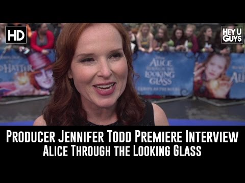 Alice Through the Looking Glass Premiere   Producer Jennifer Todd