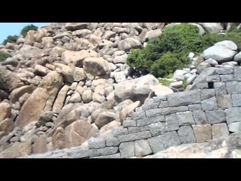 Ancient Gingee Fort A - Half-way Up - Tamil Nadu, India (Jan 2012)