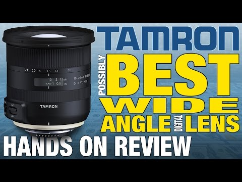 Best Wide Angle Lens for APS-C/DX Canon & Nikon Tamron Hands On Review