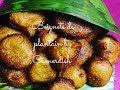 Beignets de banane plantain