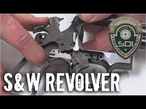 S&W Model 29 Disassembly
