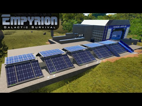 HOW GOOD ARE SOLAR PANELS | Empyrion Galactic Survival