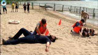 За буйки не заплывать! В детских оздоровительных лагерях начались уроки безопасности на воде