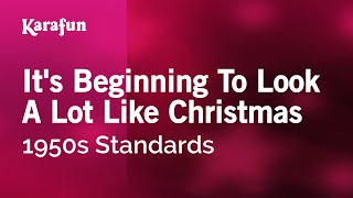 Download Karaoke It's Beginning To Look A Lot Like Christmas - 1950s Standards * MP3 song and Music Video