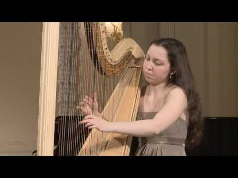 Ionella Marinutca (harp) English Hall of St. Petersburg Music House 2014-04-02