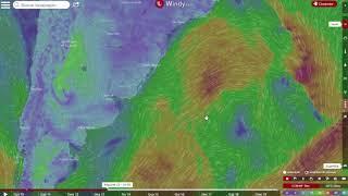 Ciclone extratropical provoca ventos fortes na costa do Sul e do Sudeste