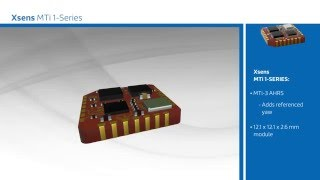 Xsens MTi 1-series for Professional UAV and Payload Control - Mouser Electronics