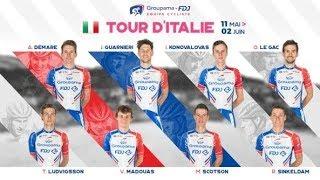 Notre bande-annonce pour le Tour d'Italie 2019