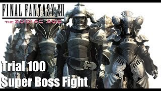 Final Fantasy XII The Zodiac Age - Trial Floor 100 Super Boss Fight (PS4)