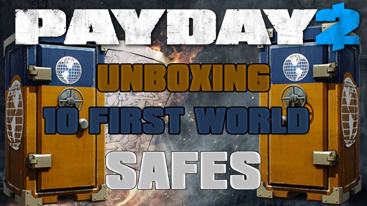 how to get safes in payday 2