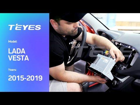 Монтаж головного устройства Teyes в автомобиль Lada Vesta