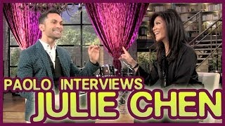"Julie Chen talks ""Big Brothers"" & dreams on the set of ""The Talk""!"