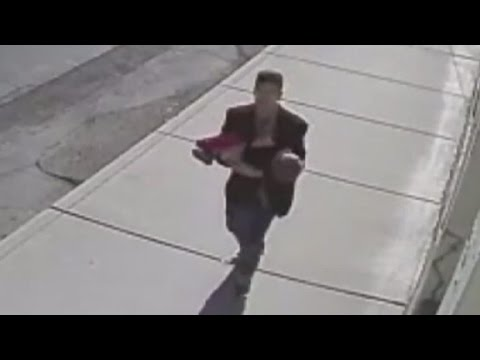 Teen arrested in child abduction caught on tape