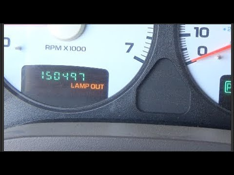 2004 Dodge Ram 1500 - Lamp Out