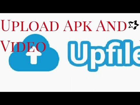 Upload Aplikasi,File,Video Ke Website Upfile.Mobi