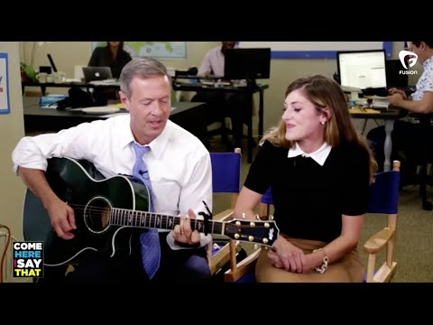 Martin O'Malley plays 'Scare Away the Dark'
