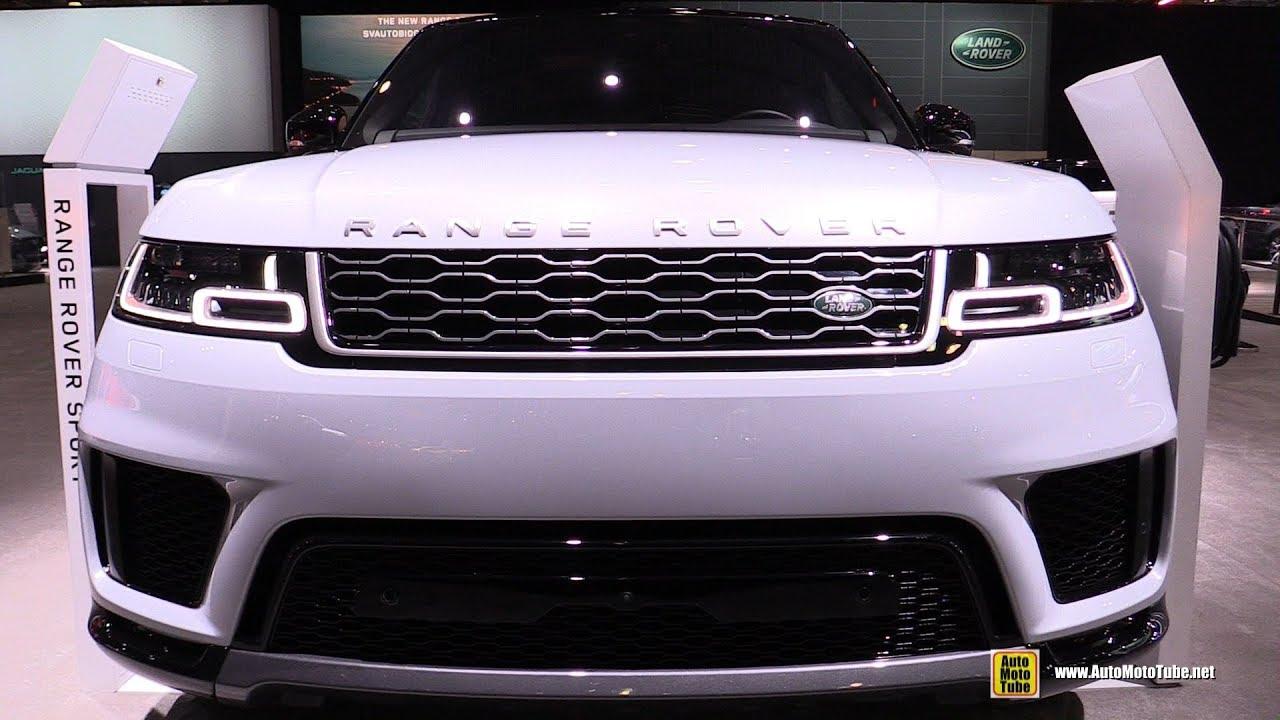 2020 Range Rover Sport HSE Plug-In-Hybrid - Exterior Interior Walkaround - 2019 NY Auto Show