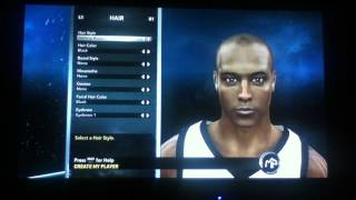 NBA 2k12 - My Player The Creation Of Quinn Jordan Bridges