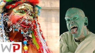 10 Most Extreme Body Modifications on People Ever