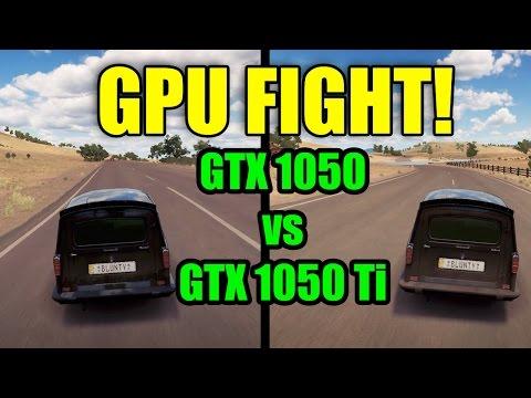GPU FIGHT - GTX1050 vs GTX1050 Ti