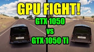 GPU FIGHT - GTX1050 vs GTX1050 Ti