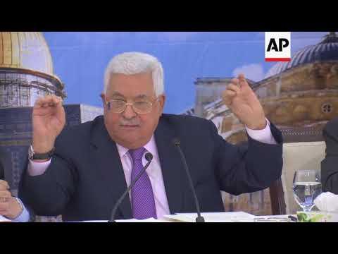 "Abbas slams US aid plans for Gaza, calls administration ""liars"""