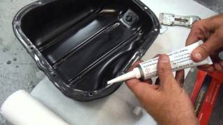 1995 Lexus ES 300 /Toyota Camry How to Reseal Leaking Oil Pan Gasket using FIPG Sealant
