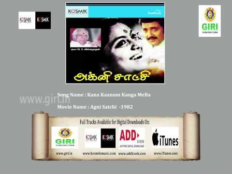 04 Kana Kaanum Kanga Mella-S. P. Balasubrahmanyam-Saritha-Agni Satchi-Vaali-Tamil