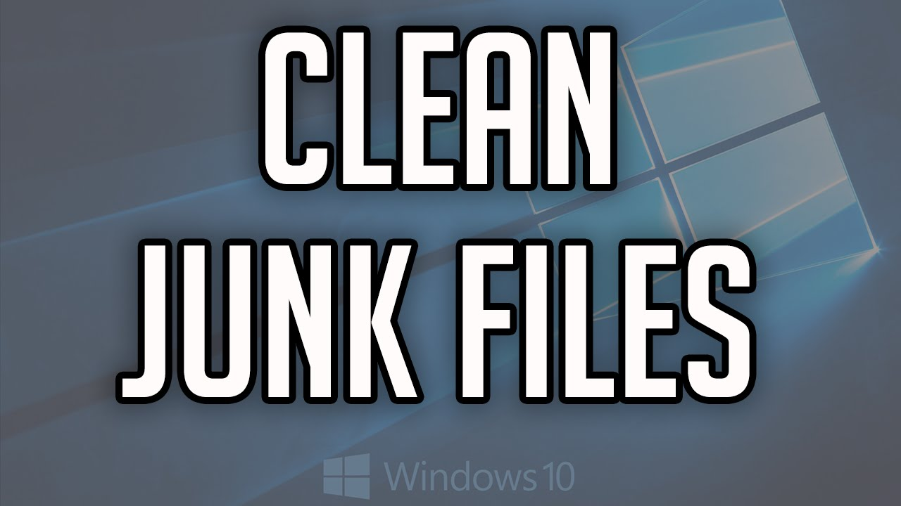 how to clean out junk files