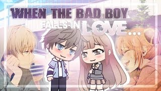 When the Bad Boy Falls in Love | Gacha Life Mini Movie | GLMM