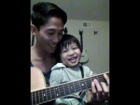 Jett plays Guitar