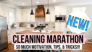 SUMMER CLEANING MARATHON // SUPER LONG CLEANING VIDEO! // COMPLETE DISASTER CLEAN WITH ME