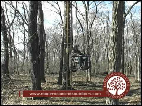 Mechanized Tree Stand Youtube