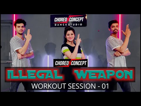 Illegal Weapon 2.0 | Street Dancer 3D | Zumba Bollywood Workout | Choreo N Concept Dance Studio