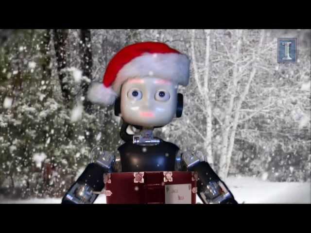 A screenshot from iCub Robot Sings Jingle Bells