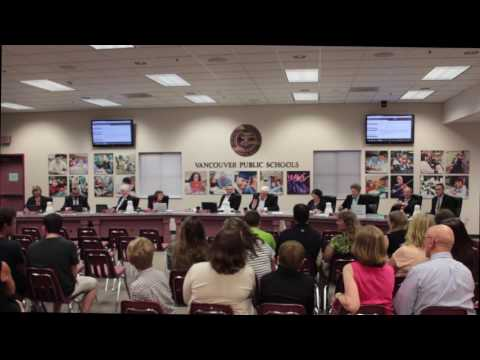 Vancouver School District Board Meeting - 6/27/17