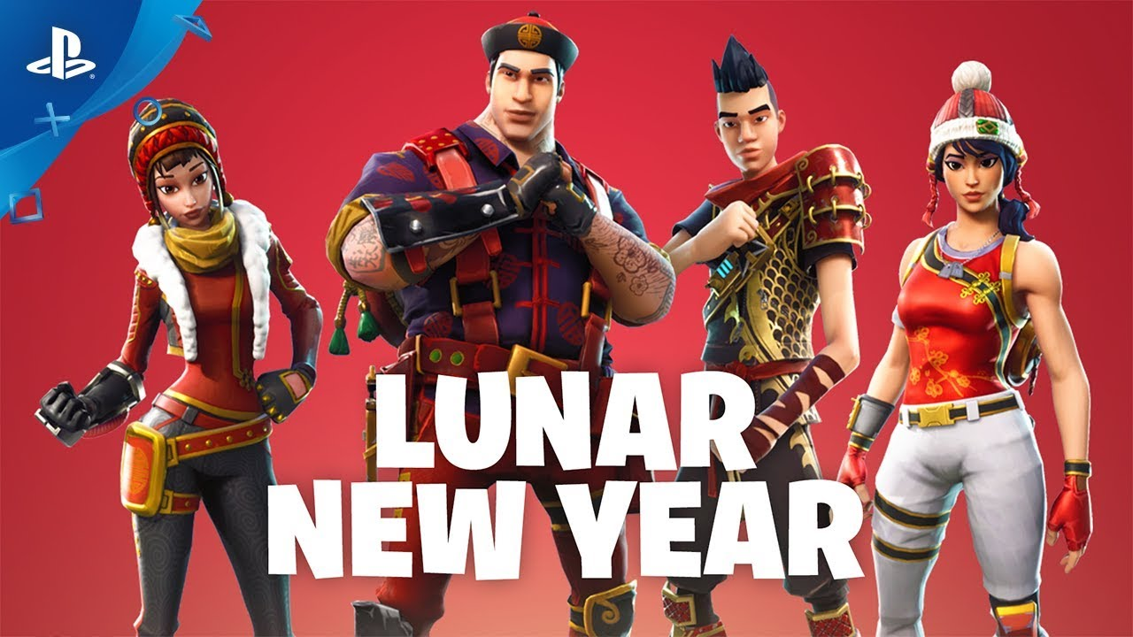 Fortnite Lunar New Year Event Trailer Save The World Ps4 Youtube