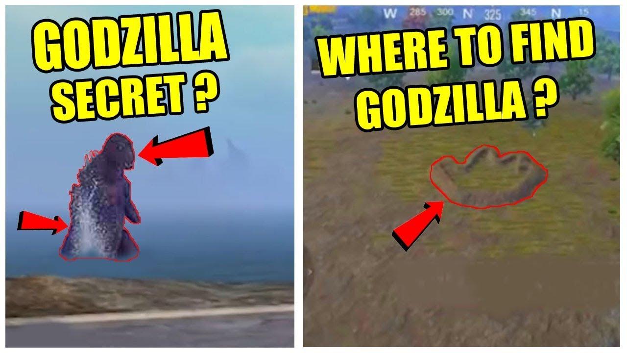 PUBG MOBILE GODZILLA SECRET LOCATION ? WHERE TO FIND GODZILLA IN PUBG MOBILE ?