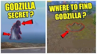 PUBG MOBILE GODZILLA SECRET LOCATION ? WHERE TO FIND GODZILLA IN PUBG MOBILE ?