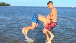 WWE MOVES AT THE BEACH(Make sure to LIKE this video, SHARE IT and SUBSCRIBE for more! :D!! Part 2 : https://www.youtube.com/watch?v=ob6mjboxn3U Follow us on social medias ..., 2016-08-25T09:05:04.000Z)